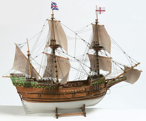 A ��D� MAYFLOWER 1:60 WERSJA KIT (BB820)